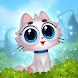 Merge Cats: Magic merging, garden renovation games