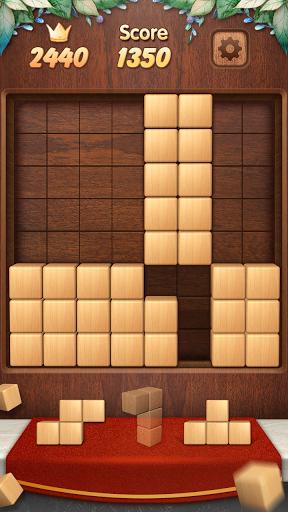 Wood Block Puzzle 3D apktreat screenshots 2
