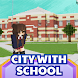 Maps for Minecraft City with School