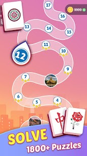 Mahjong Tours: Free Puzzles Matching Game 2