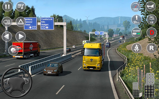 Euro Truck Transport Simulator 2: Cargo Truck Game android2mod screenshots 14
