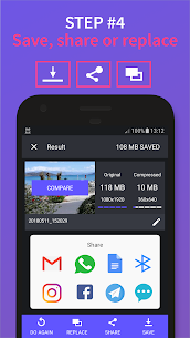 Video Compressor Panda Premium Apk (Premium Features Unlocked) 4