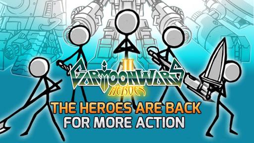 Cartoon Wars 2 APK MOD – Monnaie Illimitées (Astuce) screenshots hack proof 1