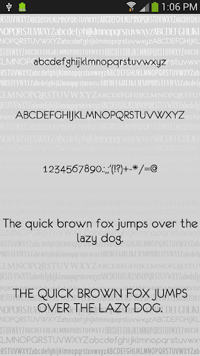 Fonts Clean for FlipFont® Free For PC Windows (7, 8, 10, 10X) & Mac Computer Image Number- 7