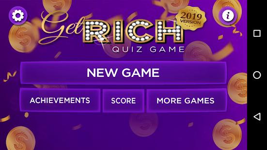 Trivia Quiz Get Rich - Fun Questions Game 3.55 screenshots 1