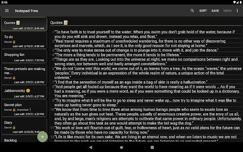 Notepad Free  Screenshots 15