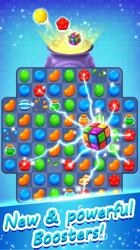 Candy Witch - Match 3 Puzzle Free Games  screenshots 1