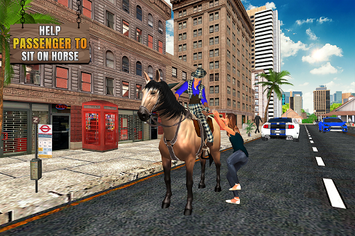 Flying Horse Taxi City Transport: Horse Games 2020 apkdebit screenshots 2