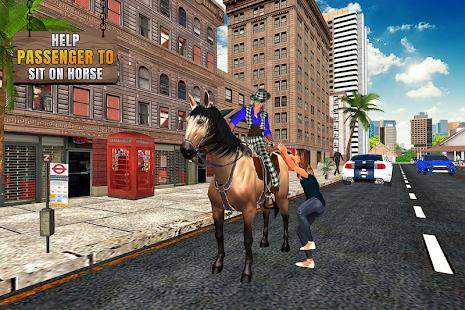Flying Horse Taxi City Transport: Horse Games 2021 3.0 screenshots 2