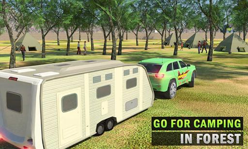 Camper Van Truck Simulator: Cruiser Car Trailer 3D 1.16 screenshots 1