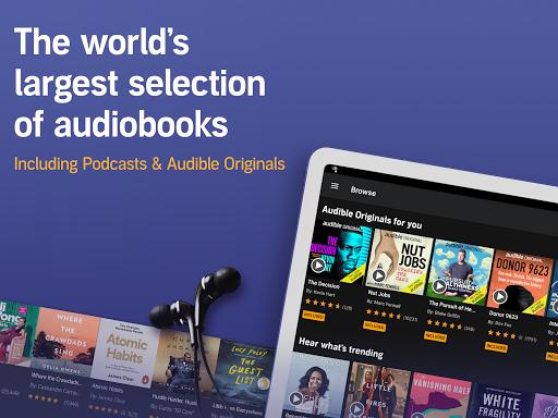 Audible: audiobooks, podcasts & audio stories  Screenshots 7