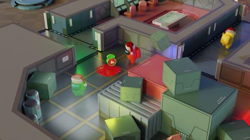 Among Christmas - Among us in 3D apktreat screenshots 1