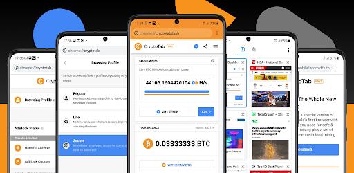 CryptoTab Browser Pro Level Mod Apk 4.1.73