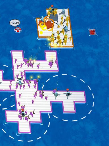 War of Rafts: Crazy Sea Battle  screenshots 22