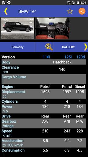 Car Parts & Car Info for Car Accessoriesuff0dAll Cars 8.2.1 Screenshots 3