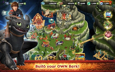Dragons : Rise of Berk Mod Android 1