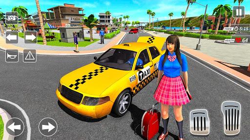 Taxi Driving Simulator City Car New Games 2021 0.3 screenshots 10
