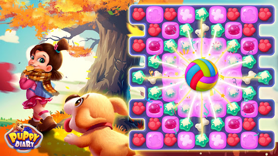 Puppy Diary: Popular Epic match 3 Casual Game 2021 screenshots 6
