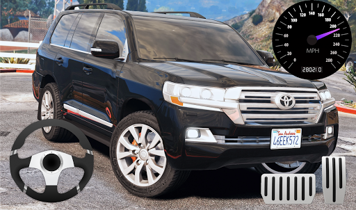 City SUV Toyota Land Cruiser 200 Parking modavailable screenshots 1