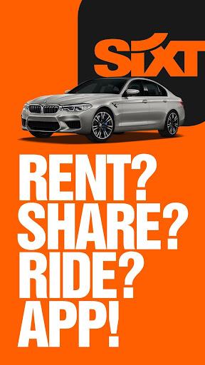 SIXT: Car rental, Carsharing & Taxi 9.40.2-10277 Screenshots 1