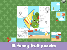 Learn fruits and vegetables - games for kids