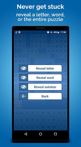 crossword puzzle free screenshot 3