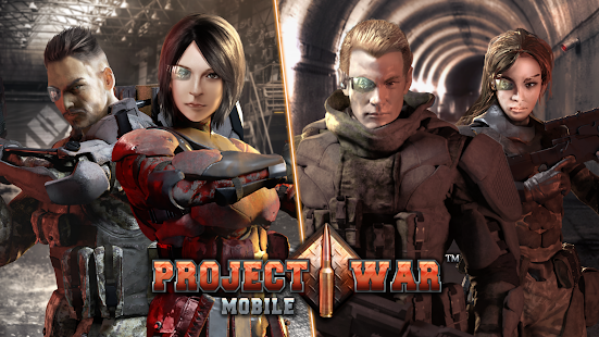 Projekt Krieg Mobil – Online-Shooter Action-Spiel Screenshot