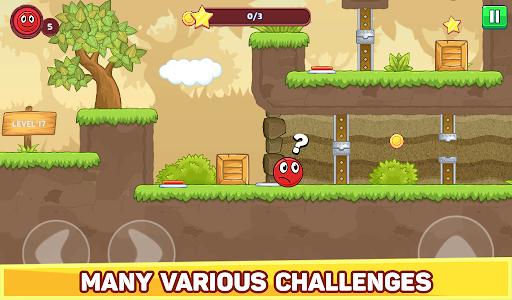Bounce Ball 5 - Jump Ball Hero Adventure 3.9 Screenshots 19