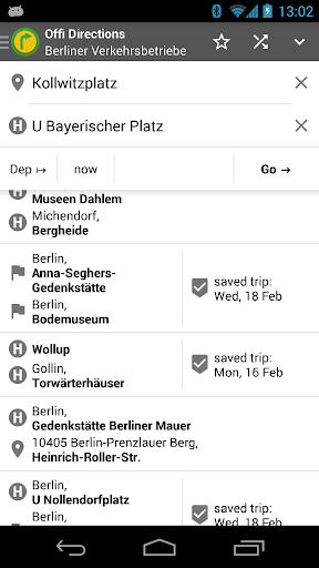 Offi - Journey Planner  screenshots 2