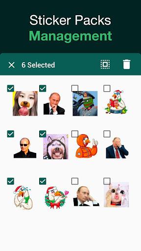 Sticker Maker for WhatsApp, WhatsApp Stickers 1.0.3 Screenshots 3
