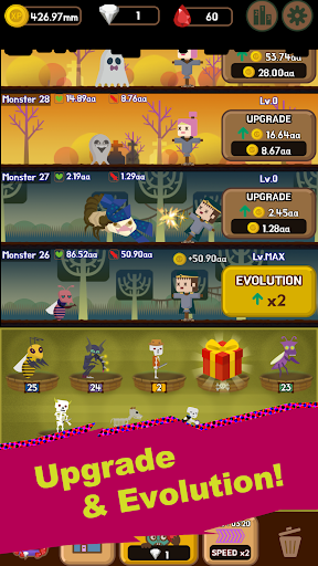 DungeonMon : Idle Merge Monster  screenshots 4
