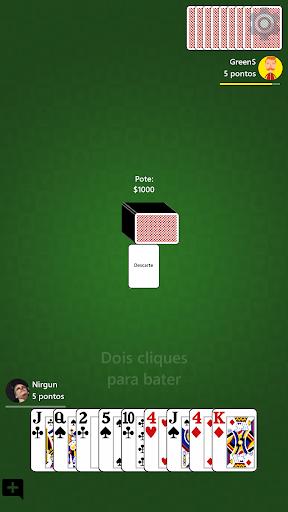 Cacheta - Jogo de Cartas Online  screenshots 3