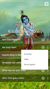 Radha Krishna Ringtones 2.2 Download APK Mod 3