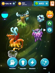 Tap Tap Monsters: Evolution Clicker MOD APK 1.7.9 (Unlimited Gold) 6