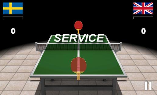 Virtual Table Tennis 3D screenshots 7