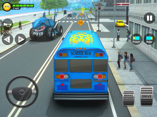 Super High School Bus Simulator und Auto Spiele 3D 2.7 screenshots 11