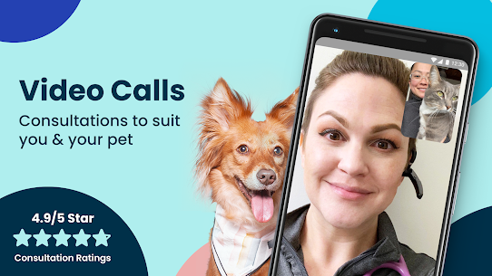 Fuzzy  Find Live Vet Support  Care for Your Pets Apk 5