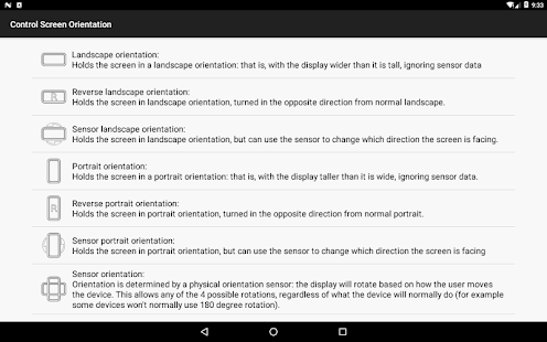 control screen rotation 3.0.2 Screenshots 12