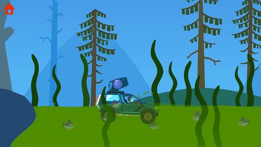 Dinosaur Guard - Jurassic! Driving Games for kids  screenshots 8