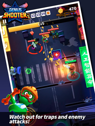 Download Genius Shooter: Monster Killer mod apk 2