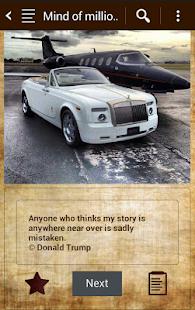 Mind of millionaire