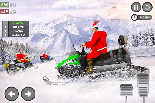 Santa Atv Snow Bike Racing 2020 : Quad Bike Race 1.1 Screenshots 11