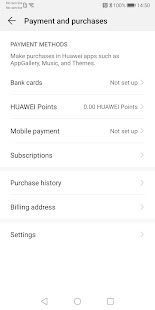 Huawei Mobile Services Screenshot