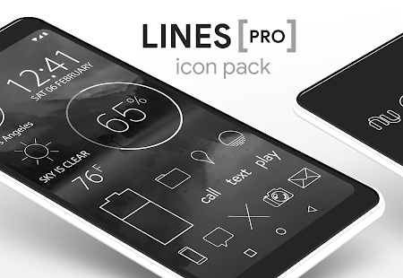 Lines - Minimalist Icons Screenshot