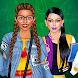 女子学生ドレスアップ - Androidアプリ