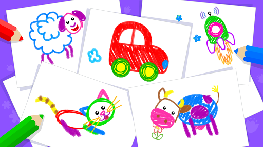 Toddler Drawing Academyud83cudf93 Coloring Games for Kids android2mod screenshots 7