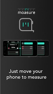 Moasure – the smart tape measure Screenshot