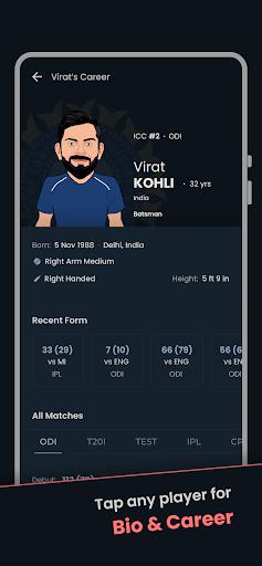Cricket Exchange - Live Score & Analysis apktram screenshots 6