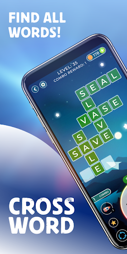 World of Wordcross - Word Crossword Search Puzzle android2mod screenshots 1