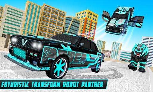 Panther Robot Transform Games  screenshots 1